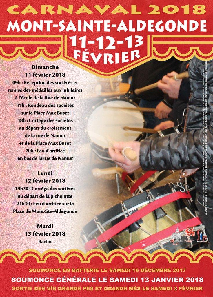 carnavals - es festivités des Carnavals de l'entité de Morlanwelz 2018 Carnaval-2018-demont-sainte-aldegonde-belgique-735x1024